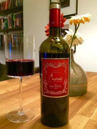 Cupcake Red Velvet, Red wine, wine, red velvet
